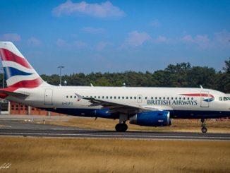 Airbus A319 British Airways G-EUPU