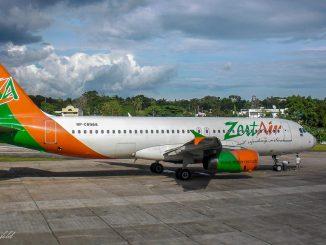 Airbus A 320 der Zest Air (Philippines)
