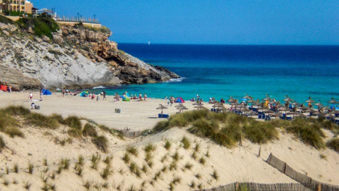 Dünen und der Starnd , Cala Mesquida, Mallorca