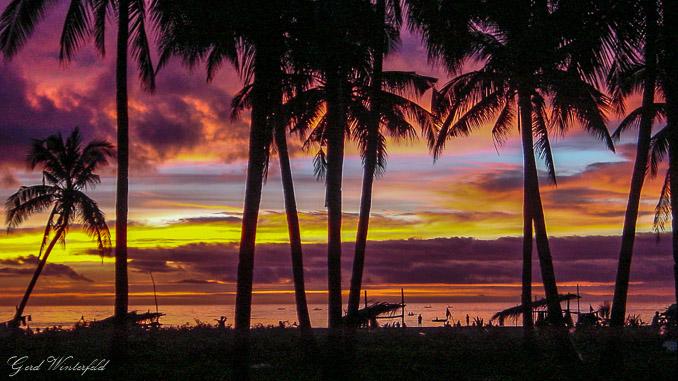 Sonnenuntergang auf Camiguin