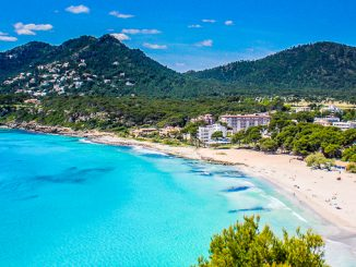 Der Strand von Canyamel, Mallorca