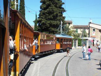 Historische Straßenbahn nach Port de Soller, Mallorca