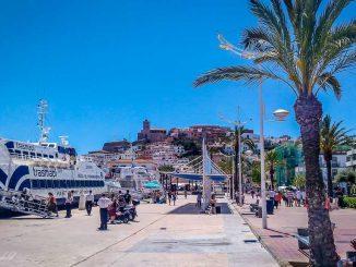 Hafen in Ibiza
