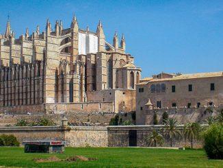 Die kathedrale La Seu auf Mallorca