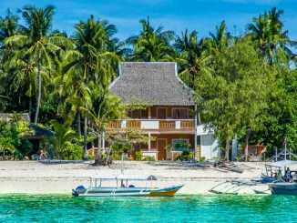 Unterkunft am Strand von Malapascua