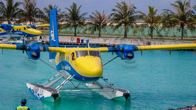 Wasserflugzeug | Flugtaxi Malediven