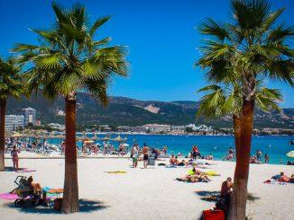 Strand Son Matias, Palma Nova, Mallorca