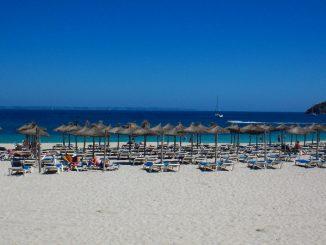 Strand bei Santa Ponsa, Mallorca