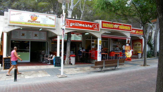 "Currywurst Stand ""Grillmeister"" und Hähnchenbraterei in Paguera, Mallorca"
