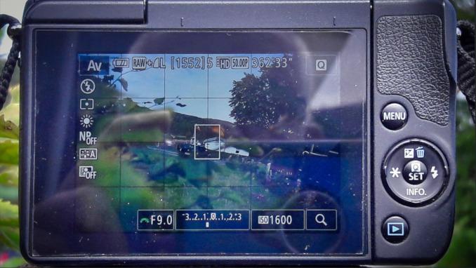 Canon EOS M10 Rückseite