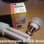 Strom sparen mit der Beleuchtung