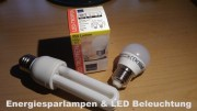 Energiesparlampen & LED Lampen