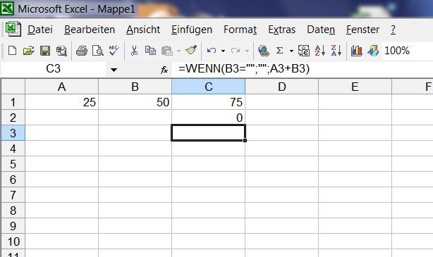 Excel Arbeitsblatt Wenn Dann : Excel leere zellen per wenn dann funktion gewibu