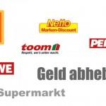 Bargeld bei Aldi Süd jetzt ab 5  Euro Einkaufswert