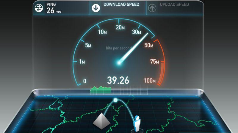 Vodafone Giga Cub Speed Test