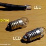 Lokbeleuchtung gegen LEDs austauschen