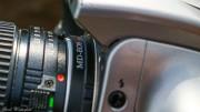 Minolta MD auf Canon EOS Adapter