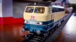 Neue Lok in meiner Sammlung: Eine BR 218 von PIKO