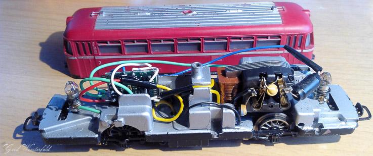 So sieht der fertig umgebaute Schienenbus dann aus.