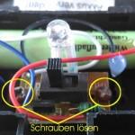 Solarlampen reparieren