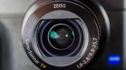 Sony Kamera mit Zeiss Linse