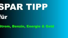 Tipps zum sparen: Geld, Strom, Benzin & Energie sparen