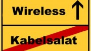 Kabellos, Wireless, Kabelsalat