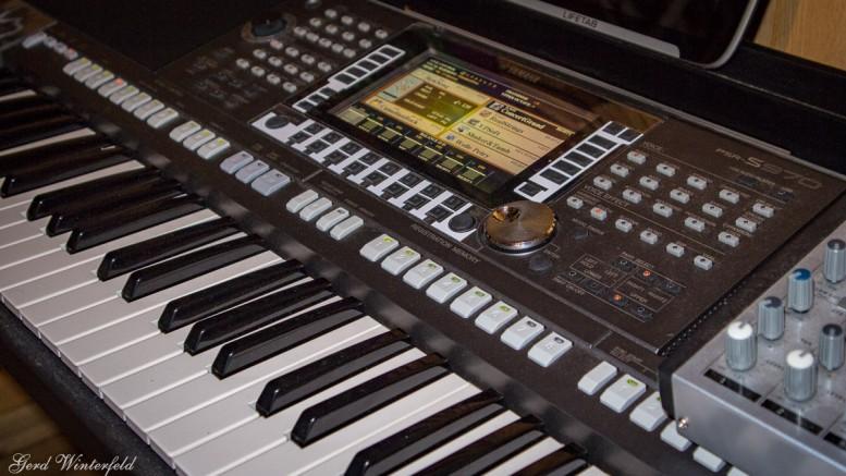 YamahaPSR S-970 Keyboard für Alleinunterhalter